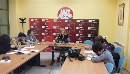 UGT-A presenta las propuestas sindicales de cara a las elecciones autonómicas del 22M