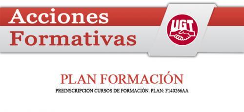 UGT - Plan Formación