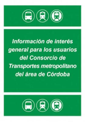 Nuevas tarifas de tarjeta de Consorcio en AUCORSA