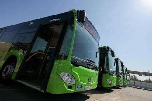 Los 25 autobuses nuevos, en enero