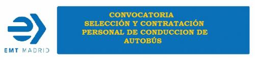 La EMT Madrid presenta una Convocatoria para conductores/as de autobús