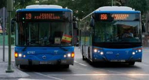Se pone en marcha el pago con tarjeta o móvil en los autobuses de Madrid