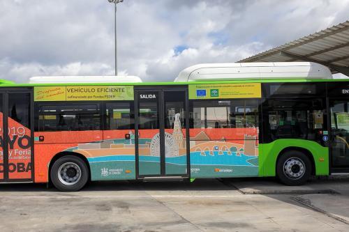 Más gas para Aucorsa: la empresa estrena este jueves otros 18 autobuses